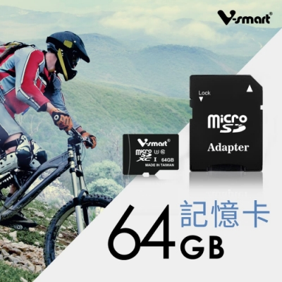 V-smart Hermes MicroSDXC UHS-I U3 記憶卡 64GB