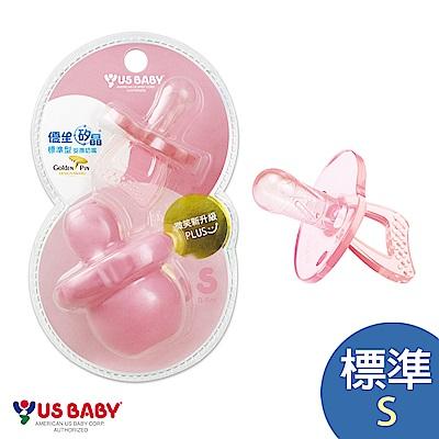 優生矽晶安撫奶嘴升級版(標準S-粉)