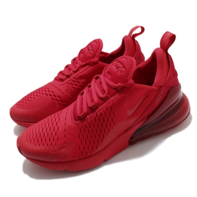 Nike 休閒鞋 Air Max 270 運動 男鞋 氣墊 舒適 避震 簡約 球鞋 穿搭 紅 CV7544600