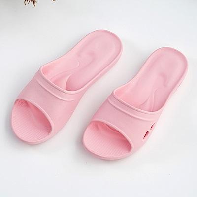 維諾妮卡 嚴選Q彈家居拖鞋-粉色