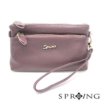 SPRING-微風城市輕量側背多用包-典雅紫