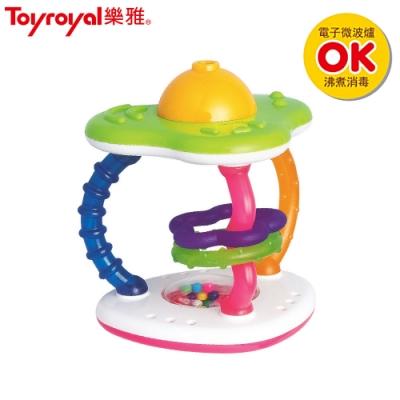 日本《樂雅 Toyroyal》可消毒柱鈴吹笛搖鈴