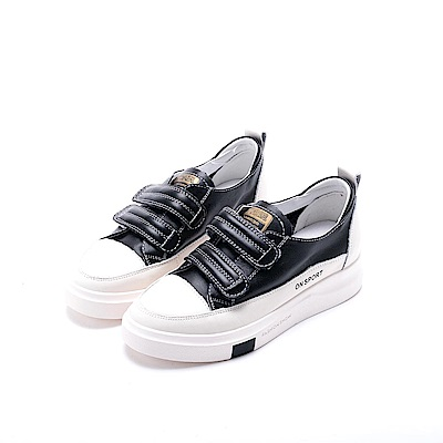 nonno 諾諾 純色時尚簡單休閒鞋 黑