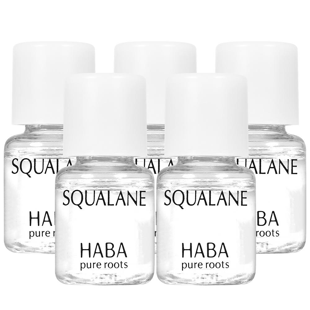 【即期品】HABA 無添加主義 純海角鯊精純液I精巧版(4ml)*5