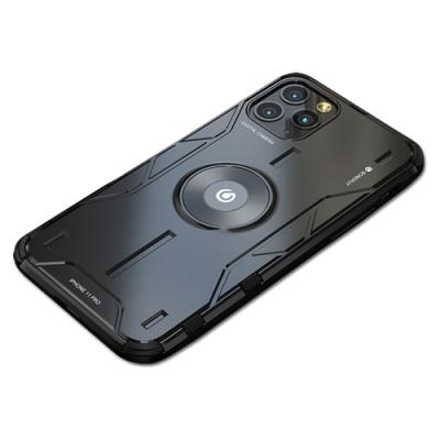 BOTYE 魔盾系列 iPhone 11 Pro Max 6.5吋 金屬背蓋保護殼