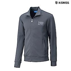 K-SWISS Retro Jacket運動外套-男-灰