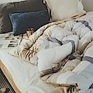 絲薇諾  MIT被/純棉mix暖絨被-輝霞(150×200cm)