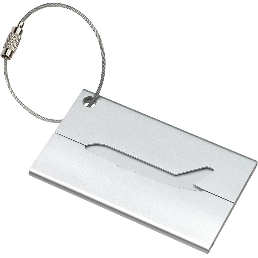 《REFLECTS》質感行李吊牌(飛機銀)