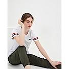 CACO-彈性貼袋束口褲-(兩色)-女【TAR013】