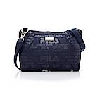 FILA小型斜肩包-深藍 BSS-5303-DB