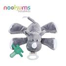 美國 nookums 寶寶可愛造型安撫奶嘴/玩偶-小犀牛