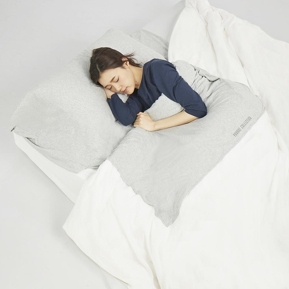 Yvonne Collection 旅行保潔睡袋-淺灰