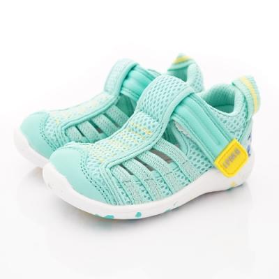 IFME健康機能鞋 透氣排水鞋款 NI00703淺綠(寶寶段)