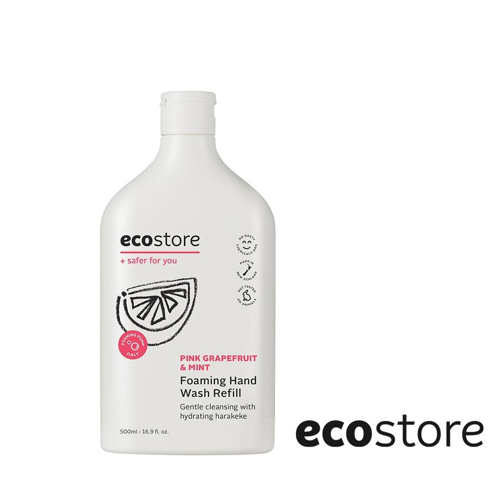 ecostore 純淨潔手泡泡-薄荷葡萄柚補充瓶 500ml