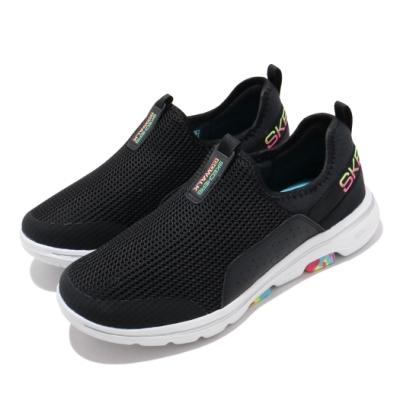 Skechers 休閒鞋 Go Walk 5 寬楦 女鞋