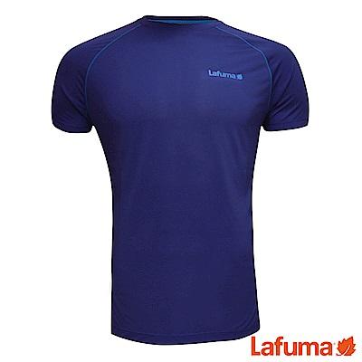 LAFUMA-男WAY 短袖排汗衣-LFV114577304-藍