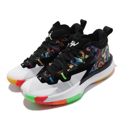 Nike 籃球鞋 Jordan Zion 1 運動 女鞋 明星款 避震 支撐 包覆 胖虎 球鞋 彩 黑 DA3131001