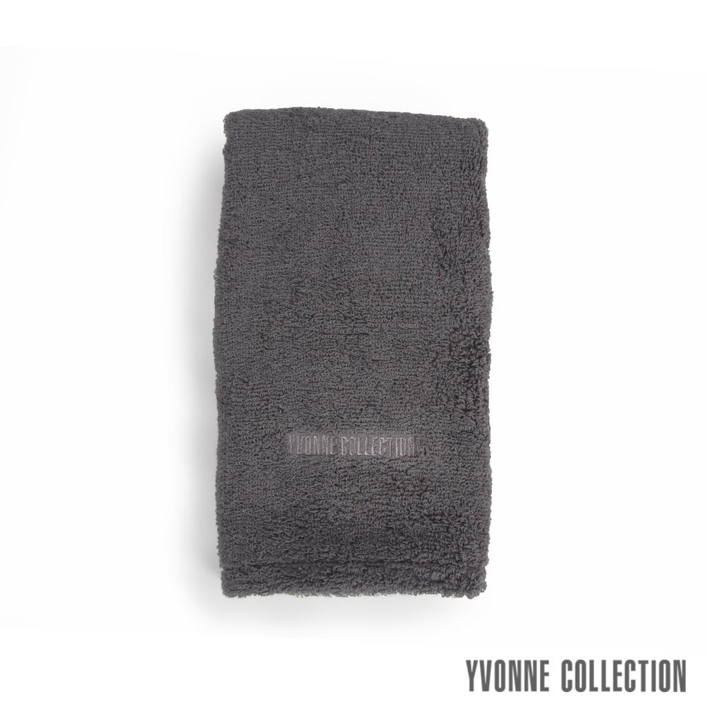 Yvonne Collection 棉柔長毛巾-石墨灰