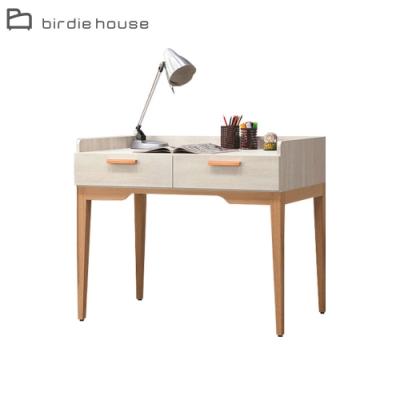 柏蒂家居-美莎3.3尺二抽書桌/工作桌-100x60x82cm