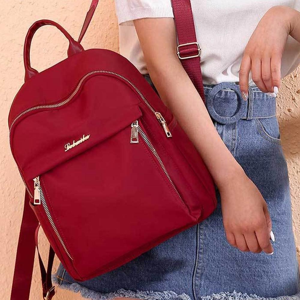 輕旅生活-輕巧淑女雙肩後背包