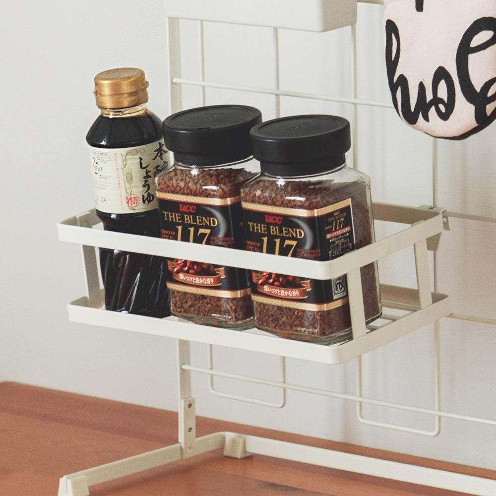 完美主義 廚房網架專用-調味瓶罐架/置物架-24.5x12.5x7
