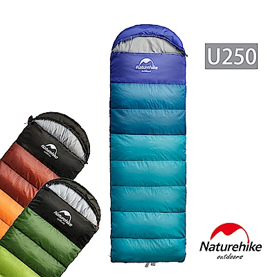 (DM獨家價) Naturehike 升級版 U250全開式戶外保暖睡袋
