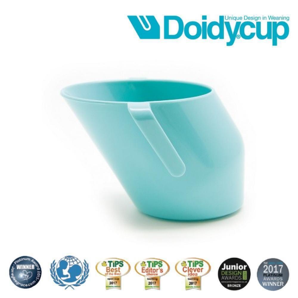 【英國Doidy cup】彩虹學習杯/訓練杯/刷牙杯-夏綠蒂(專利造型設計 喝水看的見)