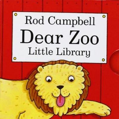 Dear Zoo Little Library 可愛的動物園掌中盒裝書