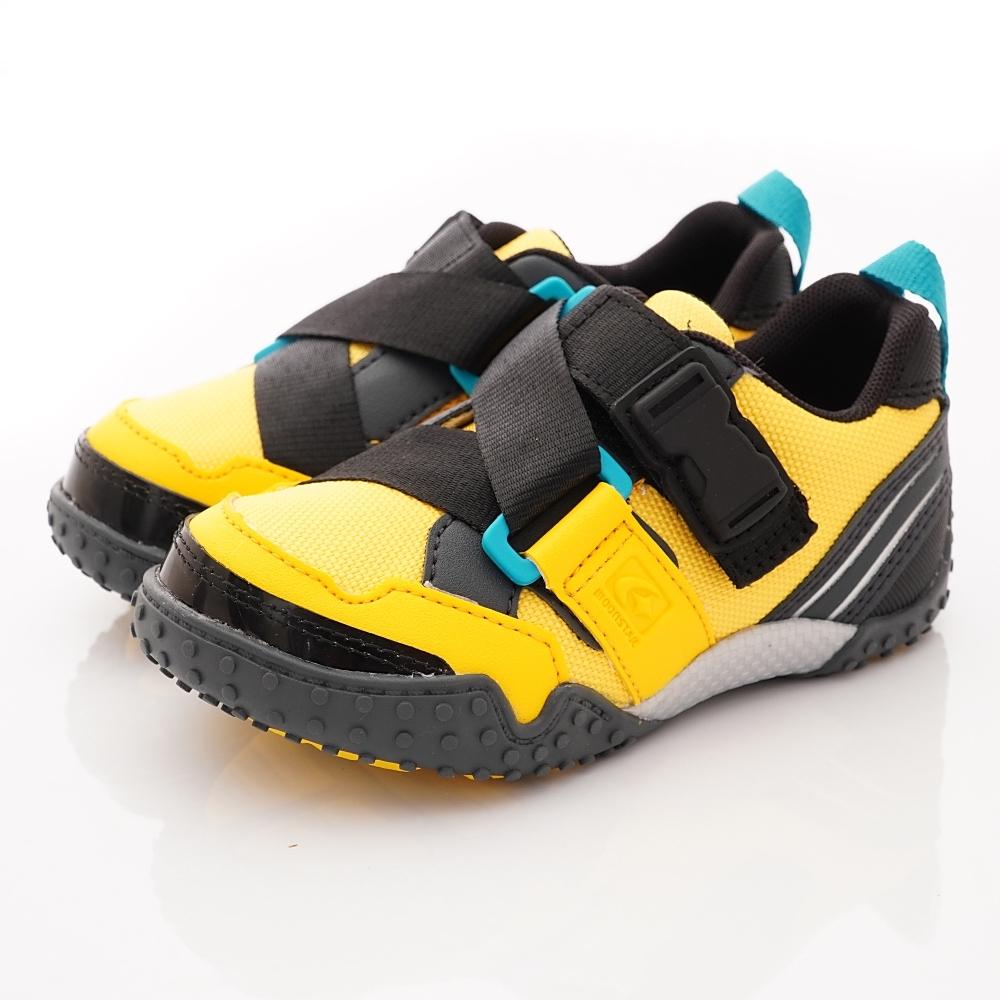 日本Carrot機能童鞋 速乾腳踏車鞋款 TW2153黃(中小童段)