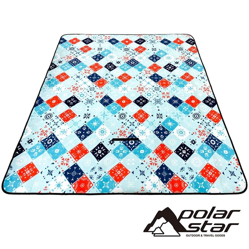 PolarStar 植絨防潮睡墊/野餐墊150*170cm  2020022