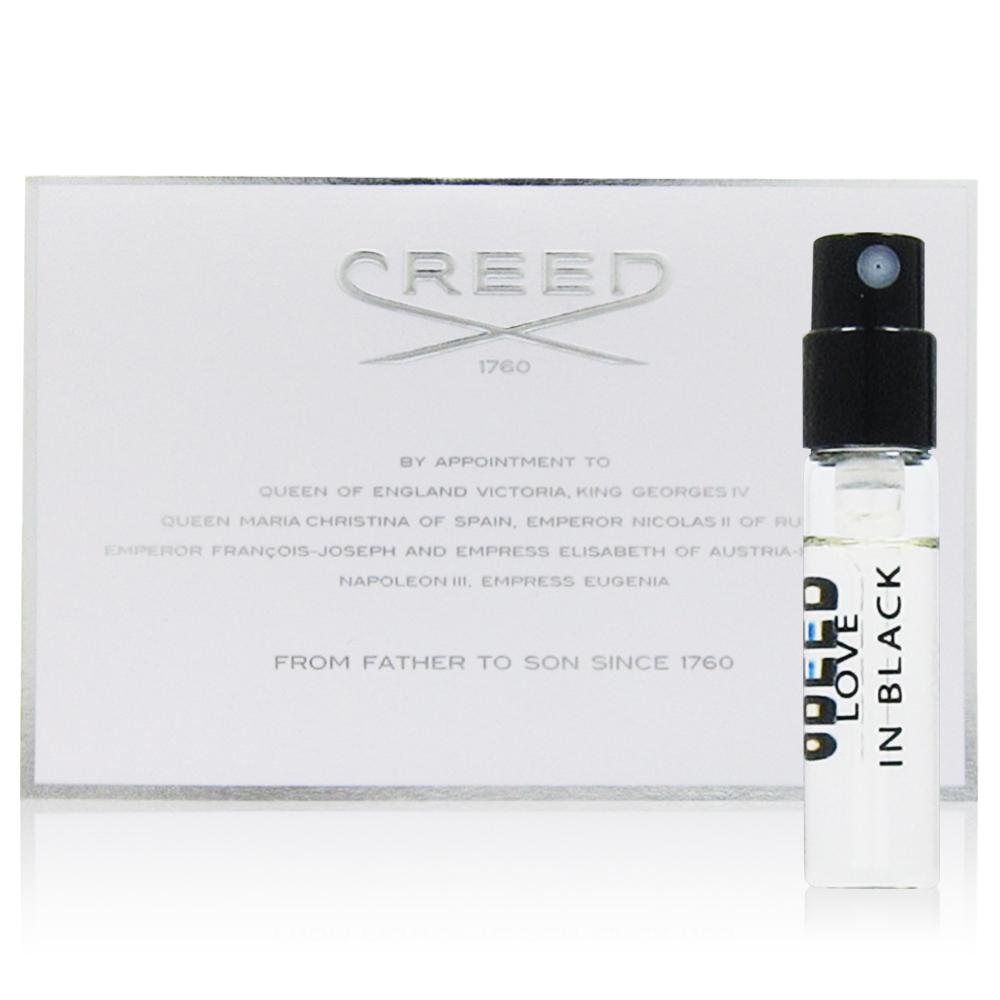 CREED LOVE IN BLACK 克蕾德夜光女性香水針管 2.5ml
