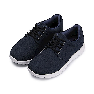 BuyGlasses 低調元素女款慢跑鞋-藍