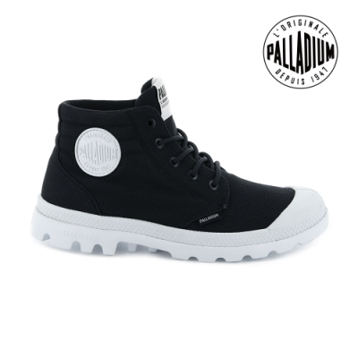 PALLADIUM BLANC LITE LOW CUFF輕量低筒靴-男-黑