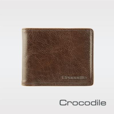 Crocodile Square Edge系列 零錢袋短夾  0103-09104