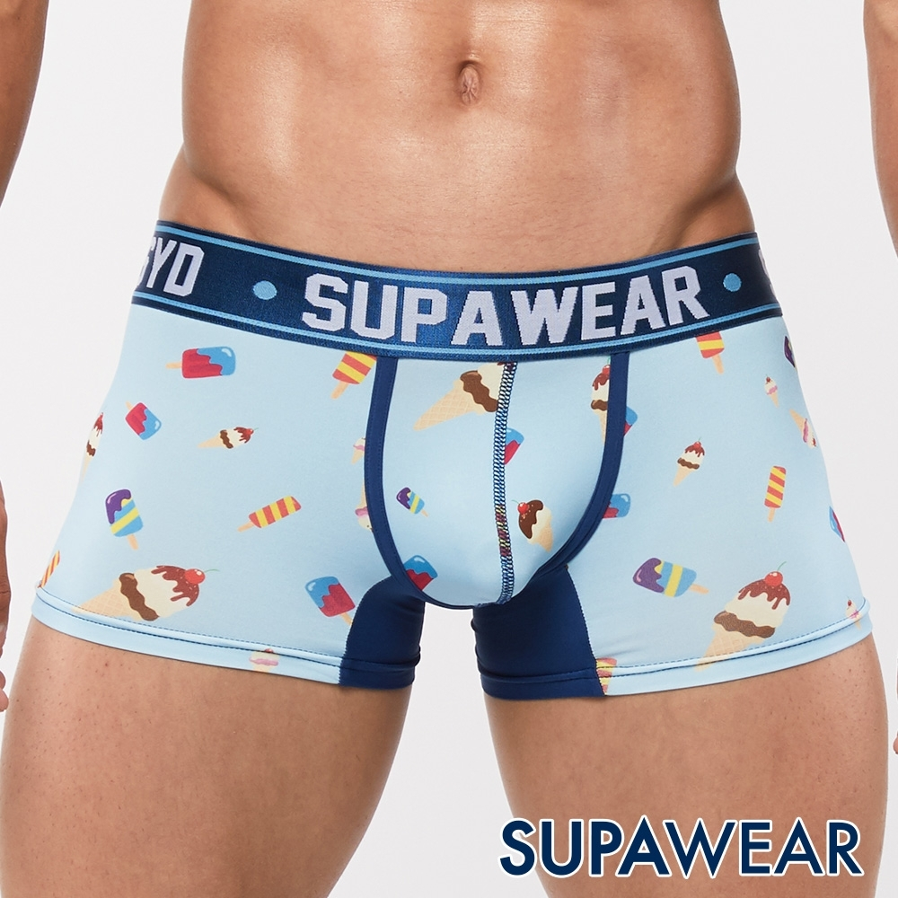 SUPAWEAR 美味系列超彈性型男四角內褲(早午餐)