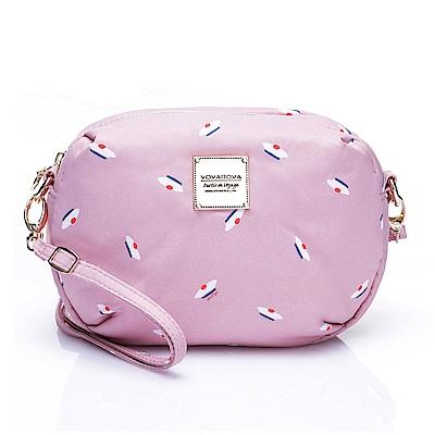 VOVAROVA空氣包-圓鼓鼓側背包-French Pom Pom(Pink)