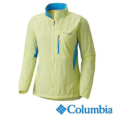Columbia 哥倫比亞 女-涼感防潑野跑外套- UAR11180YL