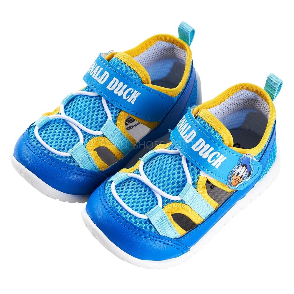 迪士尼童鞋 唐老鴨 透氣造型休閒布鞋-藍(柏睿鞋業)