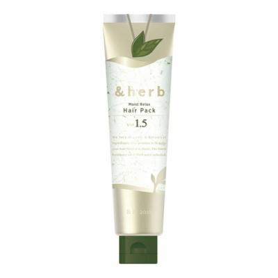 日本&herb 植萃頭皮舒活spa髮膜1.5 (130g)