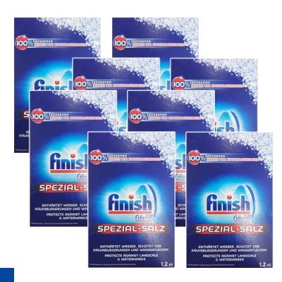 8入組 德國進口 FiNiSh 洗碗機專用 軟化鹽 1.2公斤 X8