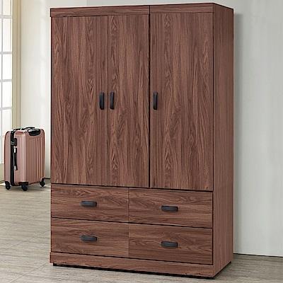 Homelike 達倫4x6衣櫃-114x54x179cm