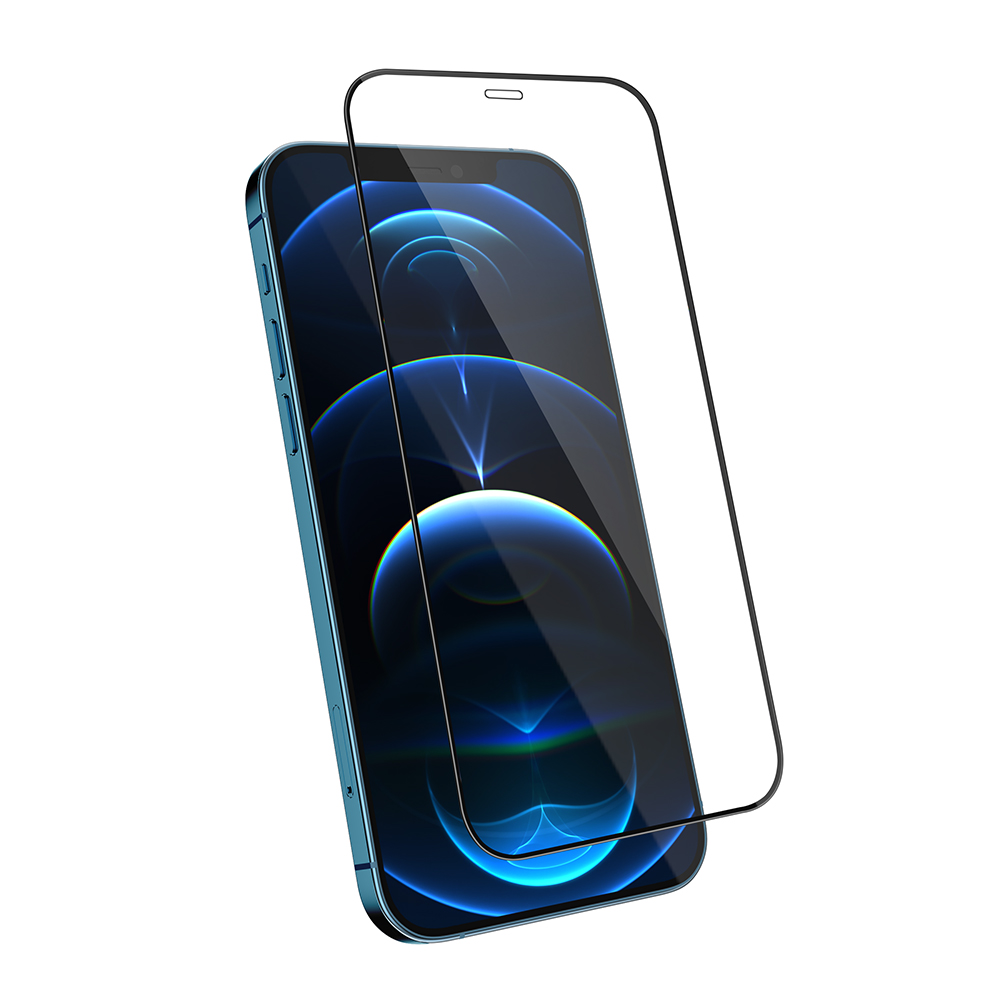 JTLEGEND iPhone 12/ mini/ Pro/ Pro Max_9H鋼化玻璃保護貼 (iPhone 12 Pro Max)