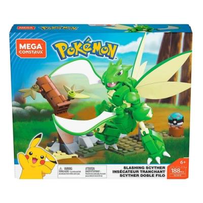 Mega美高創建 - 寵物小精靈 飛天螳螂格鬥組合