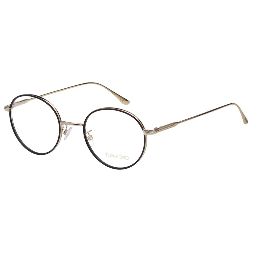 TOM FORD 復古 光學眼鏡(黑色)TF5569K