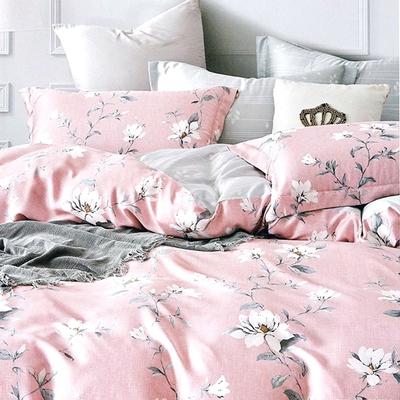 Saint Rose頂級精緻100%天絲兩用被床包組(包覆高度35CM)-花絮-加大