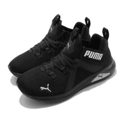 Puma 慢跑鞋 Enzo 2 Weave 運動 女鞋 襪套 基本款 舒適 簡約 穿搭 黑 銀 19316515