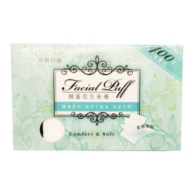 (任選3件出貨) 奇格利爾 顏面肌化妝棉400片/盒