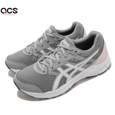 Asics 慢跑鞋 Jolt 3 D 寬楦 運動休閒 女鞋 亞瑟士 基本 訓練 貼合 柔軟 灰 粉 1012A909020
