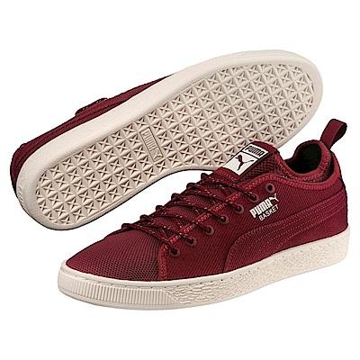 PUMA-BasketClassicSockLov2男女復古籃球運動鞋-石榴紅