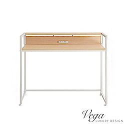 Vega 沃克高機能附插座120cm電腦桌/工作桌(2色)